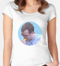 Griffin Mcelroy Vores a Banana Women's Fitted Scoop T-Shirt