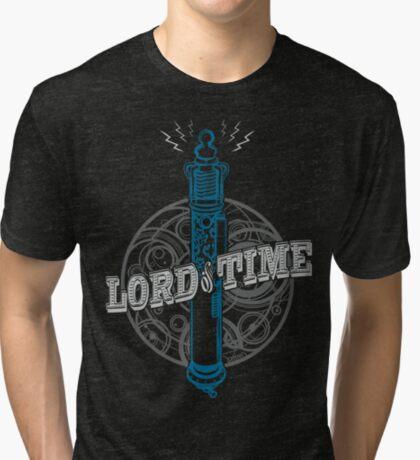 Steampunk Sonic Screwdriver Tri-blend T-Shirt