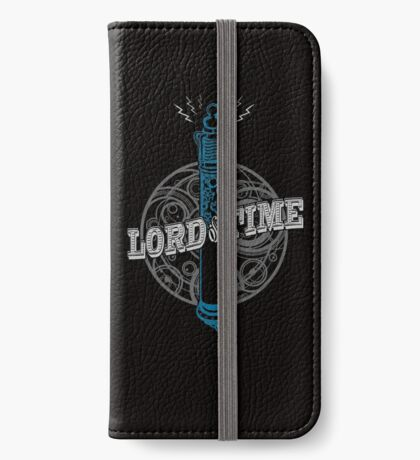Steampunk Sonic Screwdriver iPhone Wallet