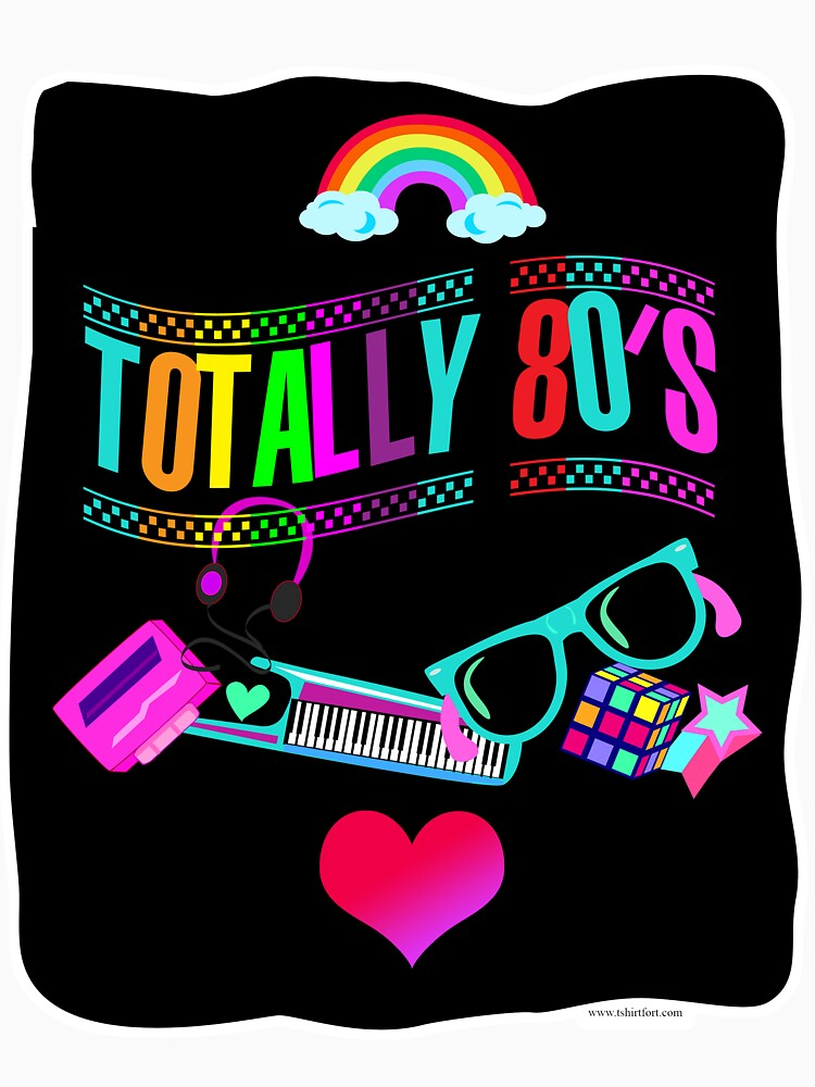 Totally 80's Fun Neon by mytshirtfort
