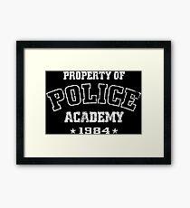 Police Academy Framed Print