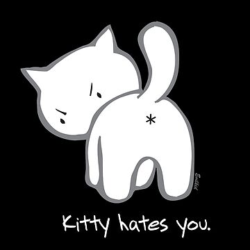 Mad Kitty:  Kitty hates you by evilkidart