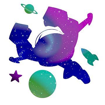 Buzz Lightyear Flying Space Infinity by shaz3buzz2