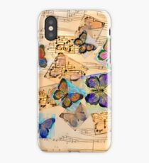 Butterfly music iPhone Case/Skin