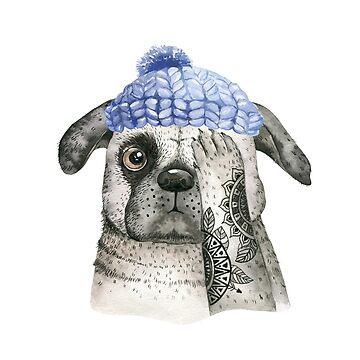 A hip snug pug by dogobsession