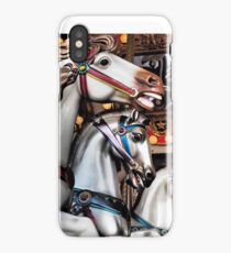 Vintage Horse Carousel Merry-Go-Round Carnival Ride  iPhone Case