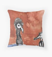 troublesome creatures series 1 of 3 Throw Pillow