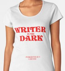 writer in the dark Women's Premium T-Shirt