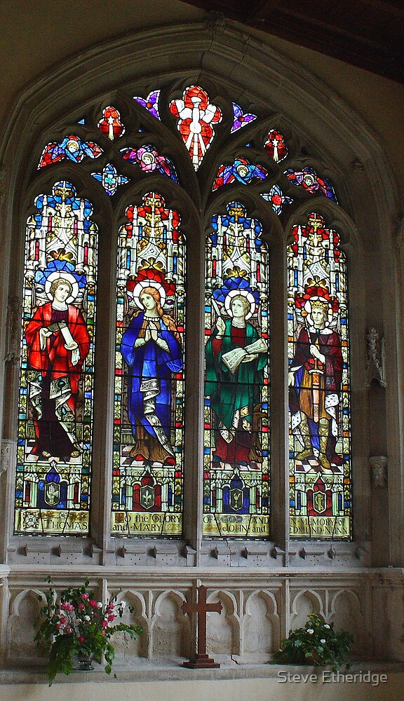 Stained glass by Steve Etheridge