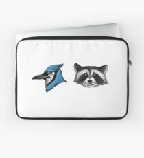 Mordecai & Rigby Laptop Sleeve