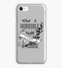 A Cursed Night iPhone Case/Skin