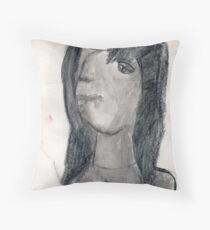 Quinn Queenie     [portrait] Throw Pillow