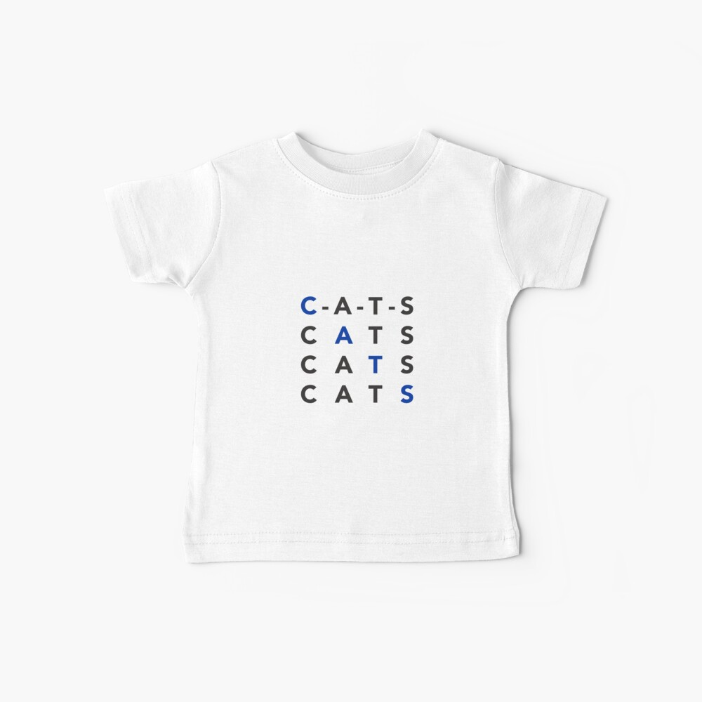 C-A-T-S Chant University of Kentucky Baby T-Shirt