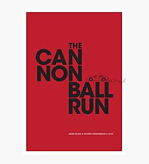 The Cannonball Run - Ferrari 308 GTS Photographic Print