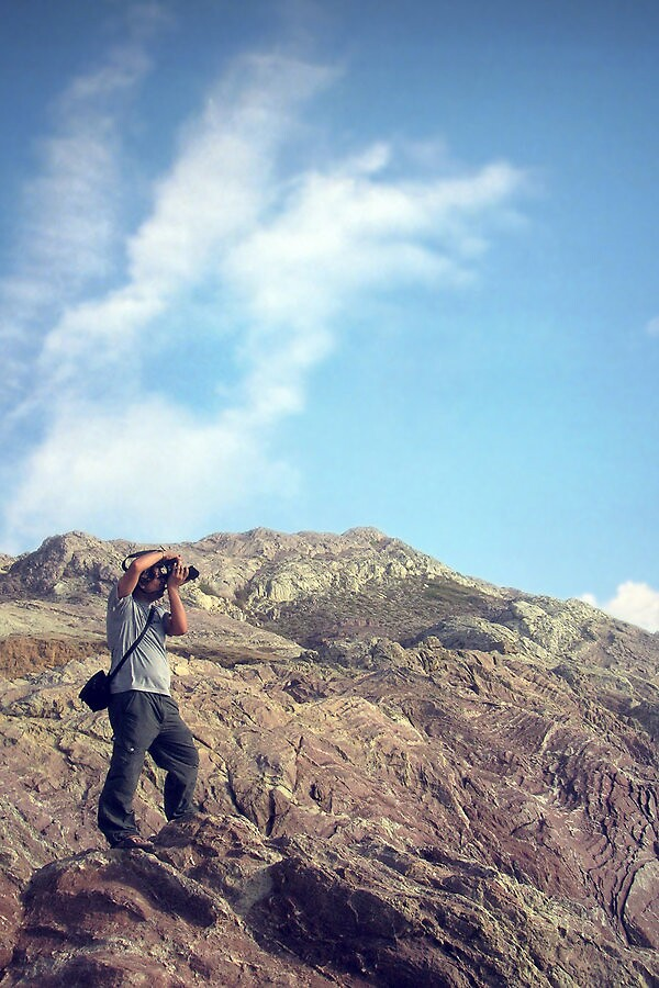 the hills have a photographer by Sheraz Khan