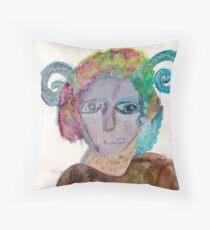 Thorn [portrait]  Throw Pillow