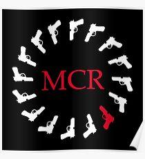 My Chemical Romance Gun Merchandise Poster