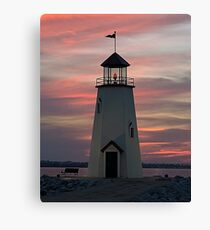 East Wharf Lighthouse Canvas Print