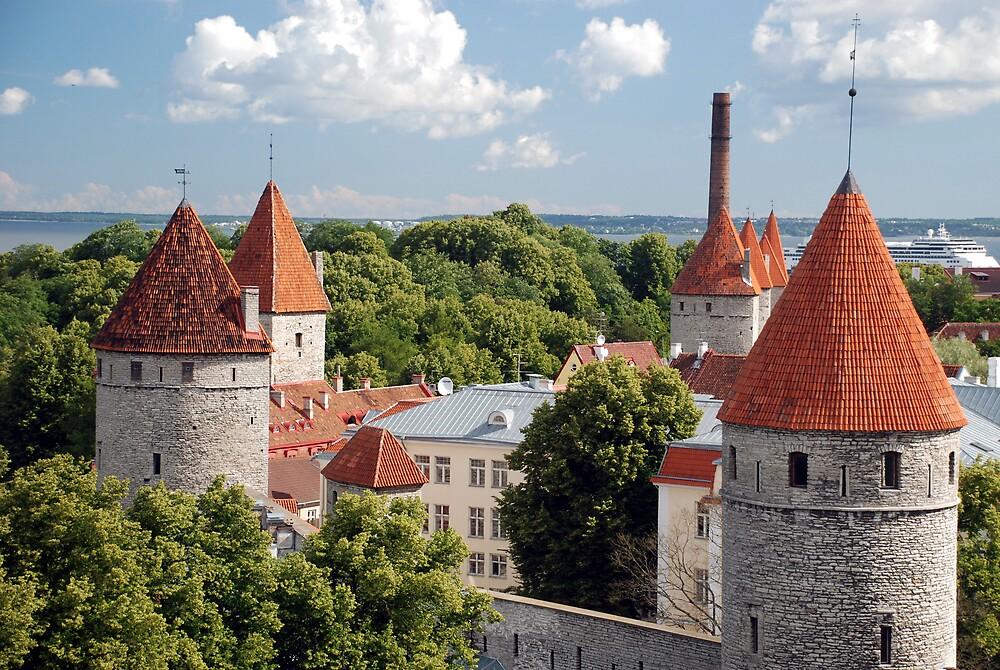 Tallinn by Angus Russell