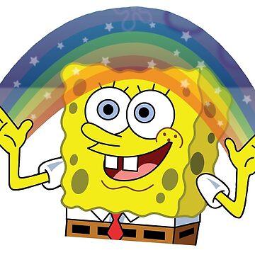Spongebob rainbow by MGakowski