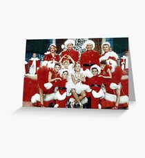 White Christmas Cast Greeting Card