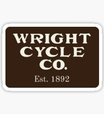 Wright Cycle Co. Sticker