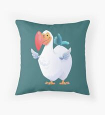 Cute Dodo Bird (Dododex for Ark: Survival Evolved) Throw Pillow