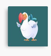 Cute Dodo Bird (Dododex for Ark: Survival Evolved) Canvas Print