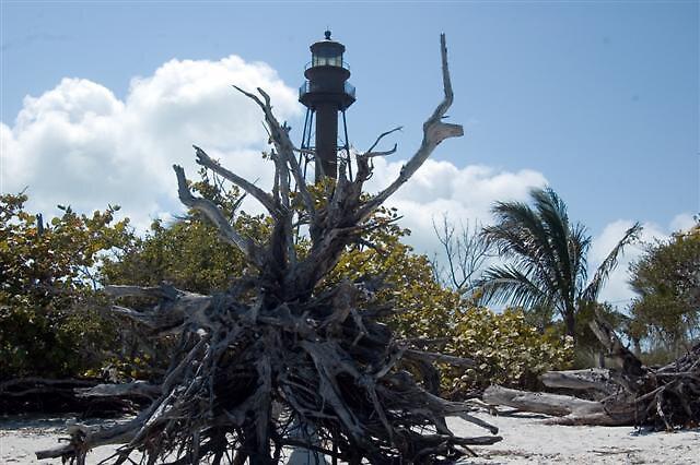 Lighthouse at Sanibel Island Florida by fishnlady