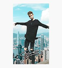 Corbyn Besson Why Don't We Photographic Print
