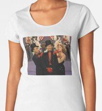 White Christmas characters Women's Premium T-Shirt