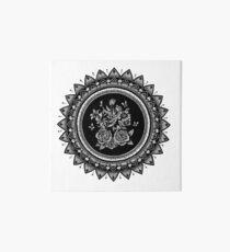 Blumenstrauß Mandala Galeriedruck