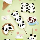 Panda Snacks by prouddaydreamer