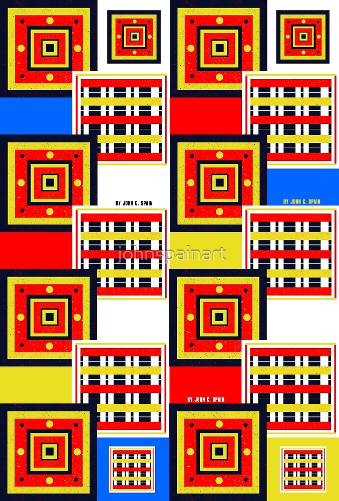 John C. Spain Custom Pattern #2 by johnspainart