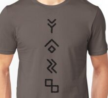 Beer Runes (Barley, Hops, Water, Yeast) Unisex T-Shirt