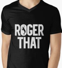 Roger That -  Roger Federer Men's V-Neck T-Shirt