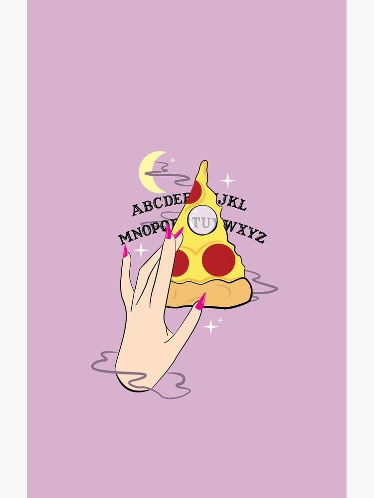 Ouija Pizza von prouddaydreamer