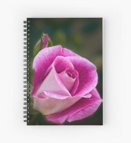 Pinke Rose Spiralblock
