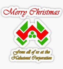 Nakatomi Christmas Sticker