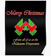 Nakatomi Christmas Poster