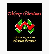 Nakatomi Christmas Photographic Print