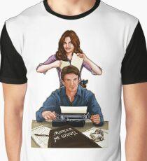 Murder He Wrote Graphic T-Shirt