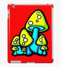Vinilo o funda para iPad Mushrooms Yellow and Aqua