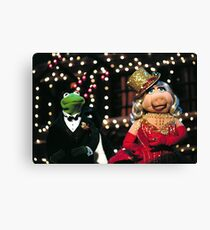Muppets-christmas Canvas Print