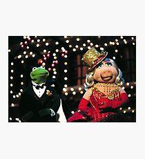 Muppets-christmas Photographic Print