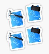 xcode & simulator Sticker