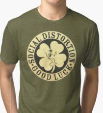 Social distortion good luck Tri-blend T-Shirt