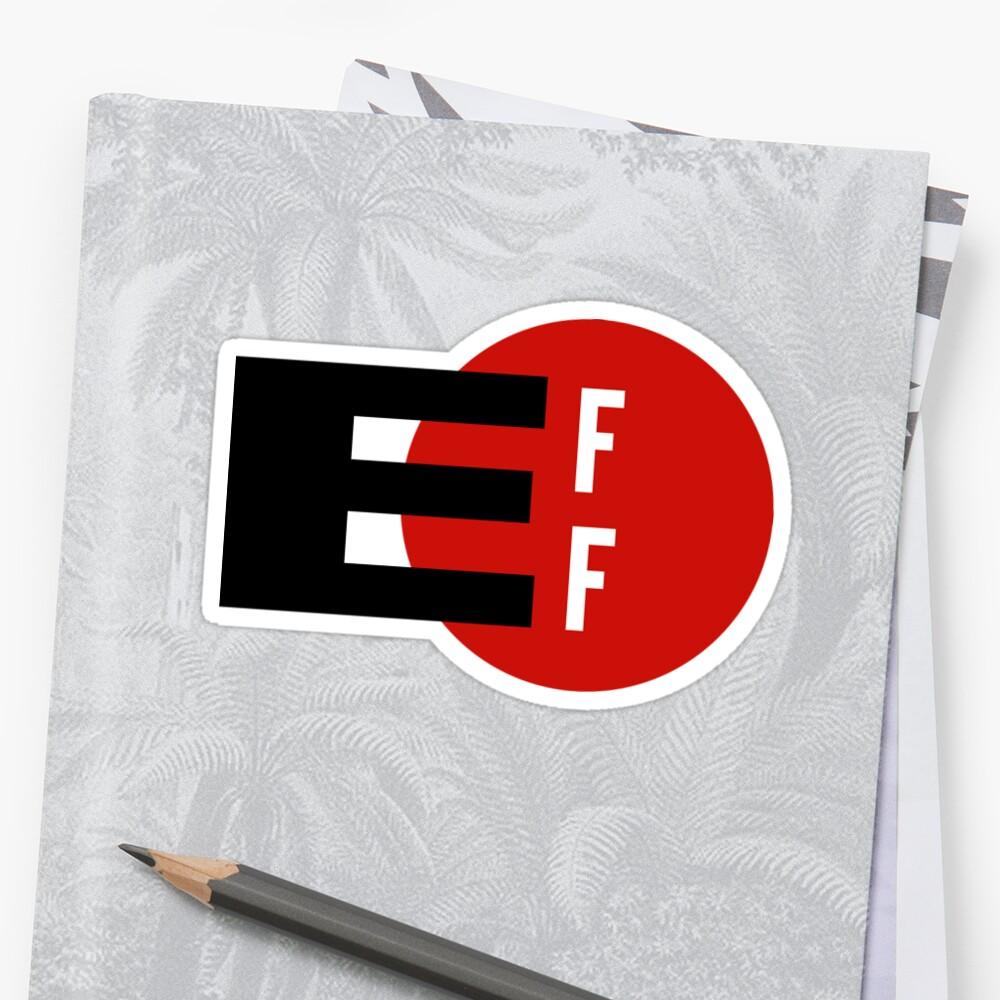 eff stickers by codesticker redbubble