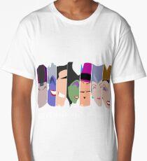 The Seven Deadly Villains  Long T-Shirt