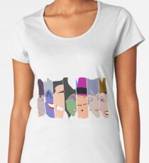 The Seven Deadly Villains  Women's Premium T-Shirt